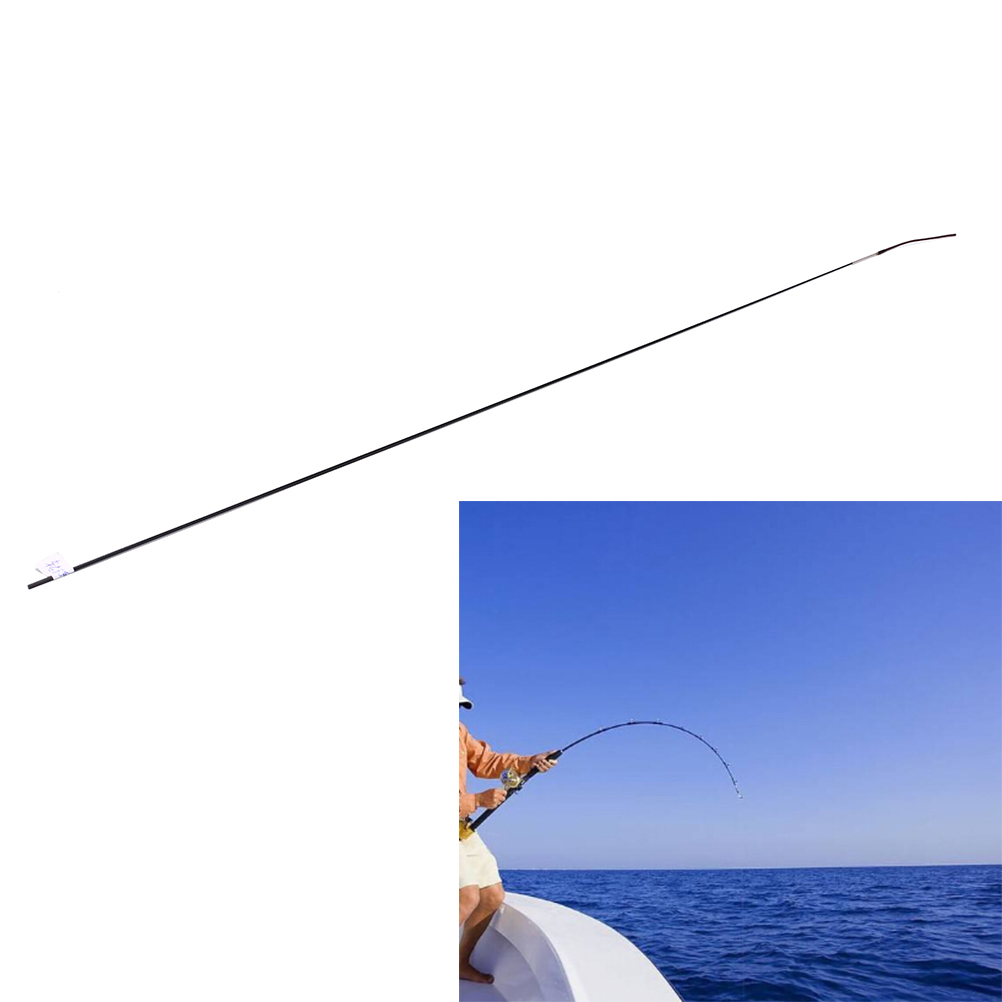 1 Interval Fishing Rod Spare Tips Solid And Hollow Carbon Rod Accessories 45cm