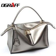 OGRAFF Echten ledernen beutel handtaschen frauen tasche designer 2017 hohe qualität marke mode frauen umhängetasche einkaufstasche