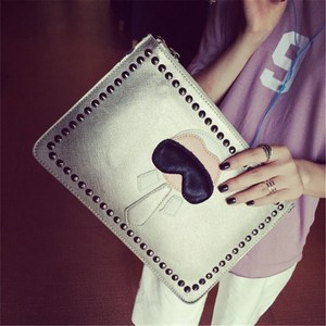 Image 2 - Mode Vrouwen Clutch Bag Leer Vrouwen Envelop Tassen Clutch Bag Vrouwelijke Koppelingen Handtas Lady Schouder Messenger Bags