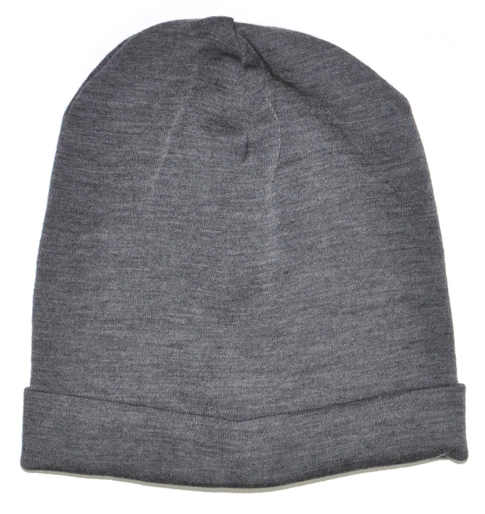 Men Women 100% super fine Merino wool Beanie hat Reversible Training  running winter thermals fleece cap knit Sports Warm cosy-in Skullies    Beanies from ... 2caf7048ba9