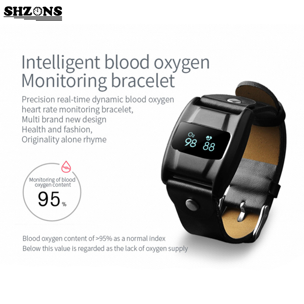 Smartband Bluetooth 4 0 Smartband Fitness Tracker Smartband WeChat QQ FACEBOOK Heart rate oxygen detection for