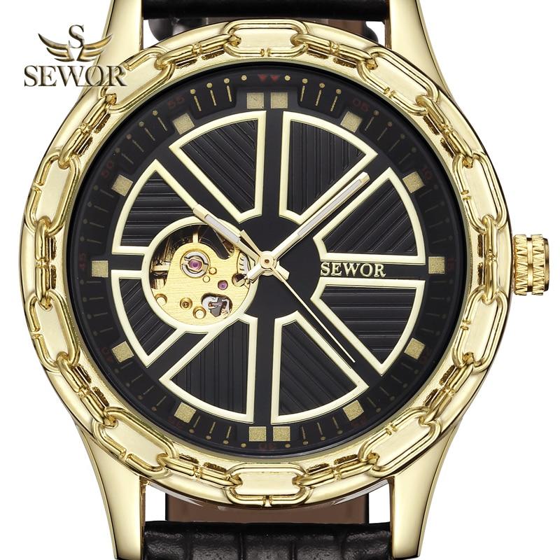 SEWOR 2019 Luksusowa Marka Moda Chalet Joke Kształt Mężczyzna - Męskie zegarki - Zdjęcie 1