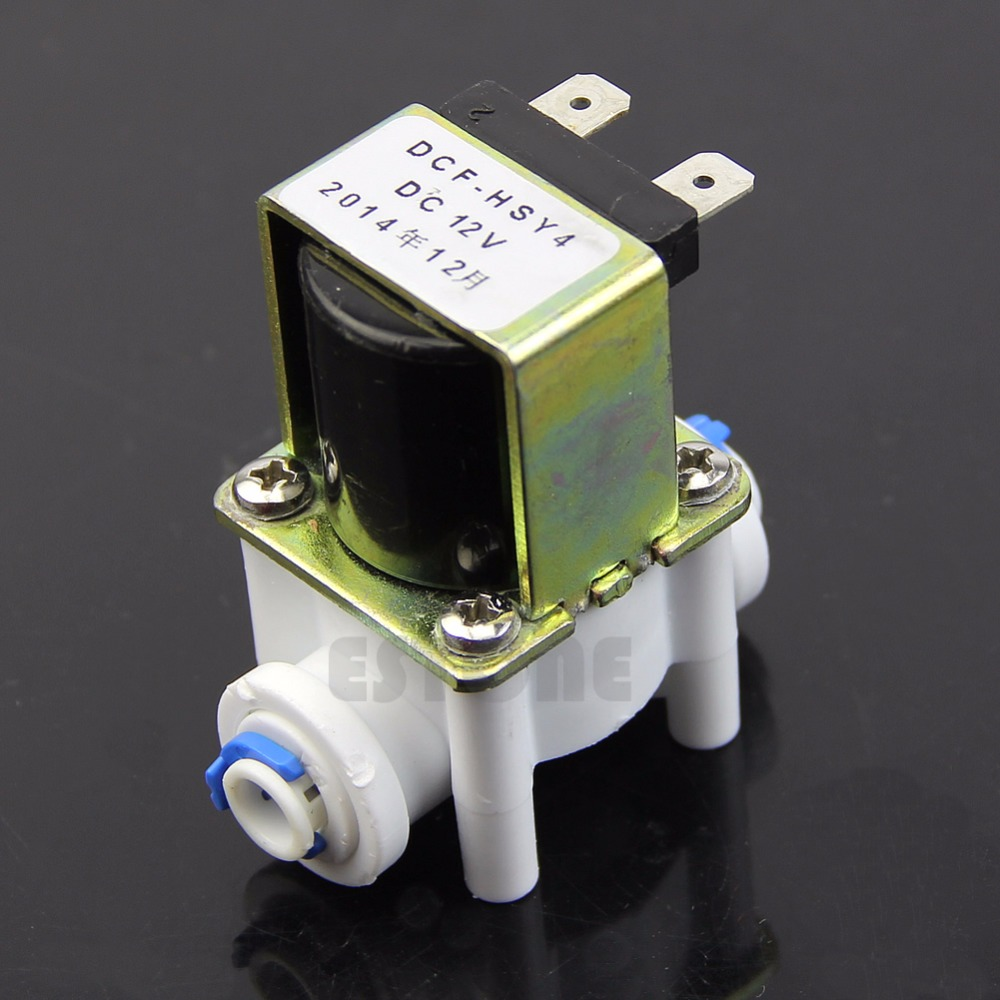 Electric Solenoid Valve For Water Purifier Refrigerator Normally Closed DC 12V 1 2 built side inlet floating ball valve automatic water level control valve for water tank f water tank water tower