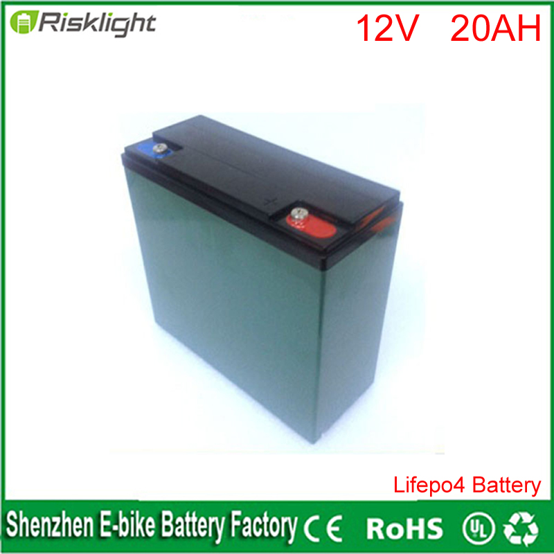 Rechargeable Lithium 26650 4S6P 20Ah Lifepo4 12V 20AH Battery Pack For Solar Street Light 18650 rechargeable lithium lifepo4 battery 1350mah