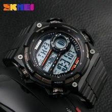 Любимый skmei 1115 мужская цифровой лучший бренд, открытый пластиковые часы Многофункциональные Часы моды водонепроницаемый Ребенка простые часы