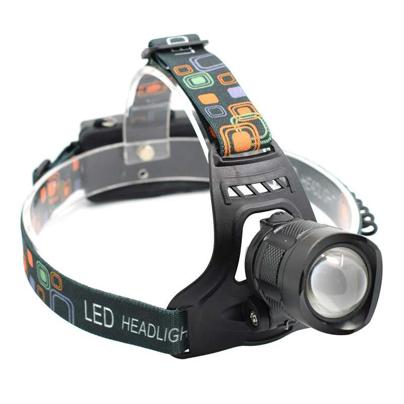 High Power XML T6 LED Headlamp Headlight Zoomable Head Flashlight Frontal LED Torch 5-Mode USB Forehead Lamp Zoom 18650 Headlamp uking xml t6 1000lm 5 mode zoomable camouflage flashlight torch