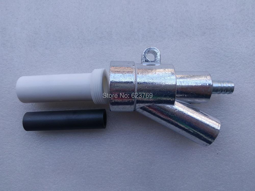 RZZ Sand Blast Gun Kit With 1 Boron Carbide Nozzle 80x20x8mm Replacement for Sandblast Machine B2