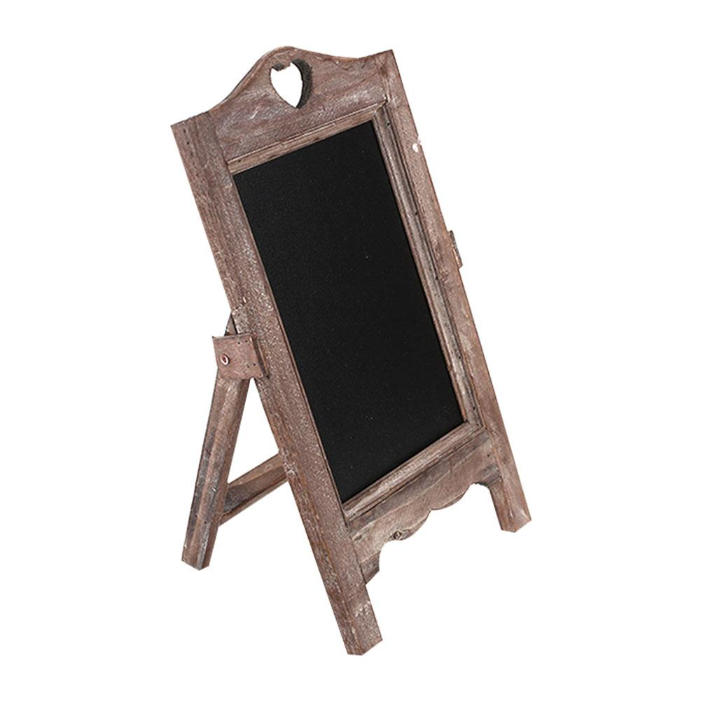 Matte Surface Wooden Small Blackboard Memo Board Decor Advertising Board Table Card Creative Multifunctional