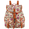 New Arrival 2017 Women Bag Vintage Classical Owl Printing Canvas Backpack Mochila Feminina Bagpack Drawstring Bag Bolsa Feminina
