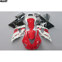 Injection Red White Black Fairings Kit BodyWork for YAMAHA YZFR1 1998 1999 98 99