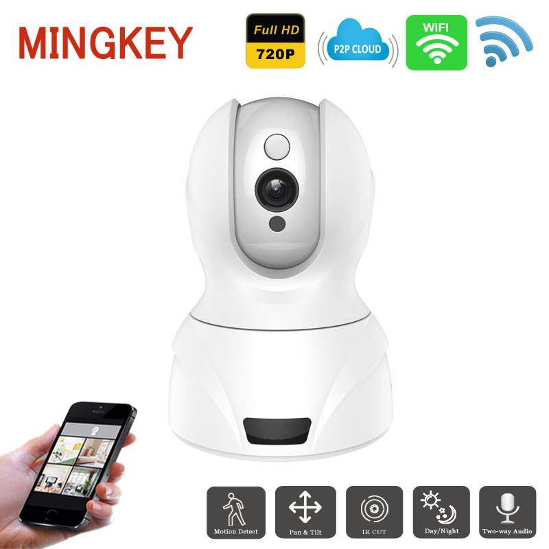 720P Wireless PTZ IP Camera Wifi 1.0MP IR Security Camera HD Network CCTV Camera Smart Baby Monitor Free APP  for iOS&Android baby monitor camera wireless wifi ip camera 720p hd app remote control smart home alarm systems security 1mp webcam yoosee app