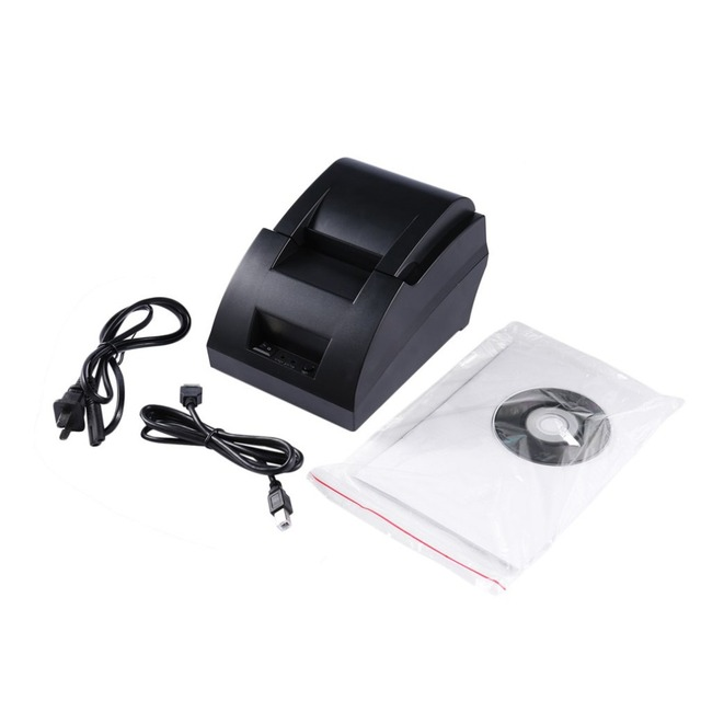 USB Port 58mm Thermal Receipt Printer Low Noise High-Speed printing POS-5890C Types