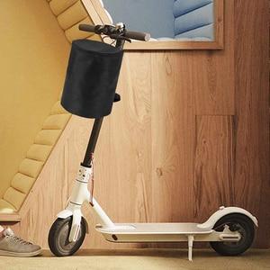Image 5 - Scooter acessório dobrável frente pendurado saco de armazenamento frente scooter acessório cesta para xiaomi m365 scooter elétrico acessório