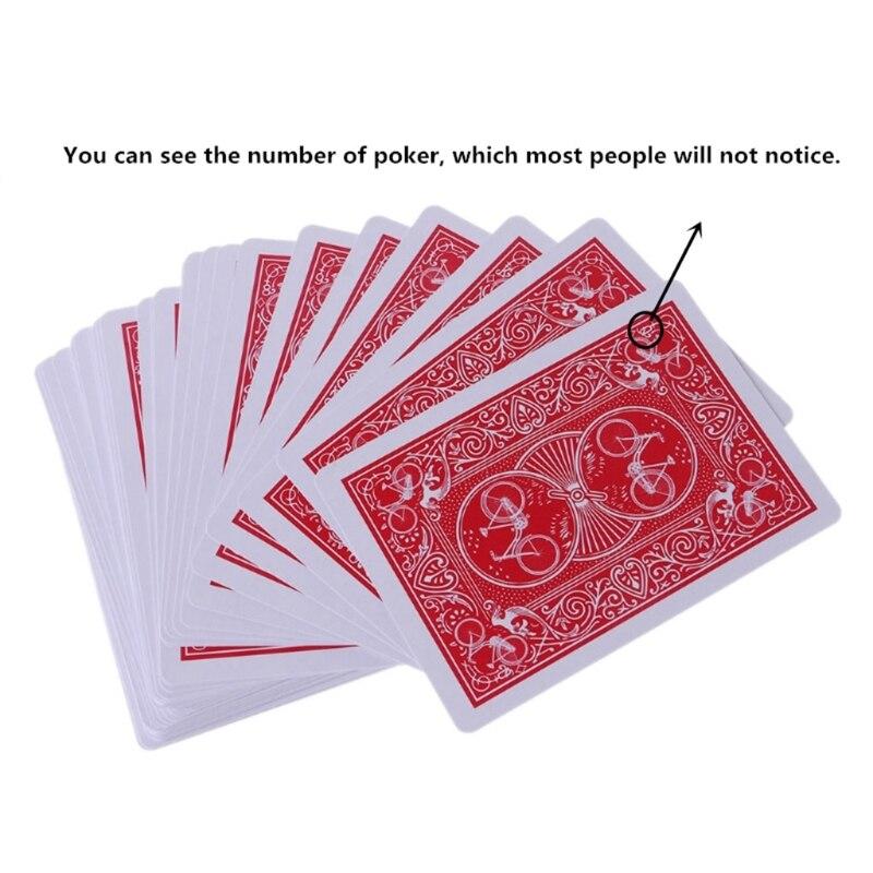 Новые секретные покерные карты просвечивают игральные карты волшебные игрушки простые, но неожиданные фокусы