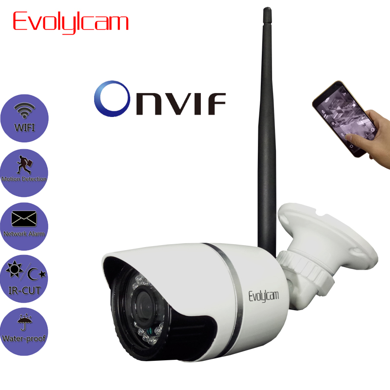 Evolylcam Wireless HD 2MP 1080P Wifi Sony IMX323 IP Camera Onvif P2P Security Optional Micro SD/TF Card Slot Audio CCTV Camera купить в Москве 2019