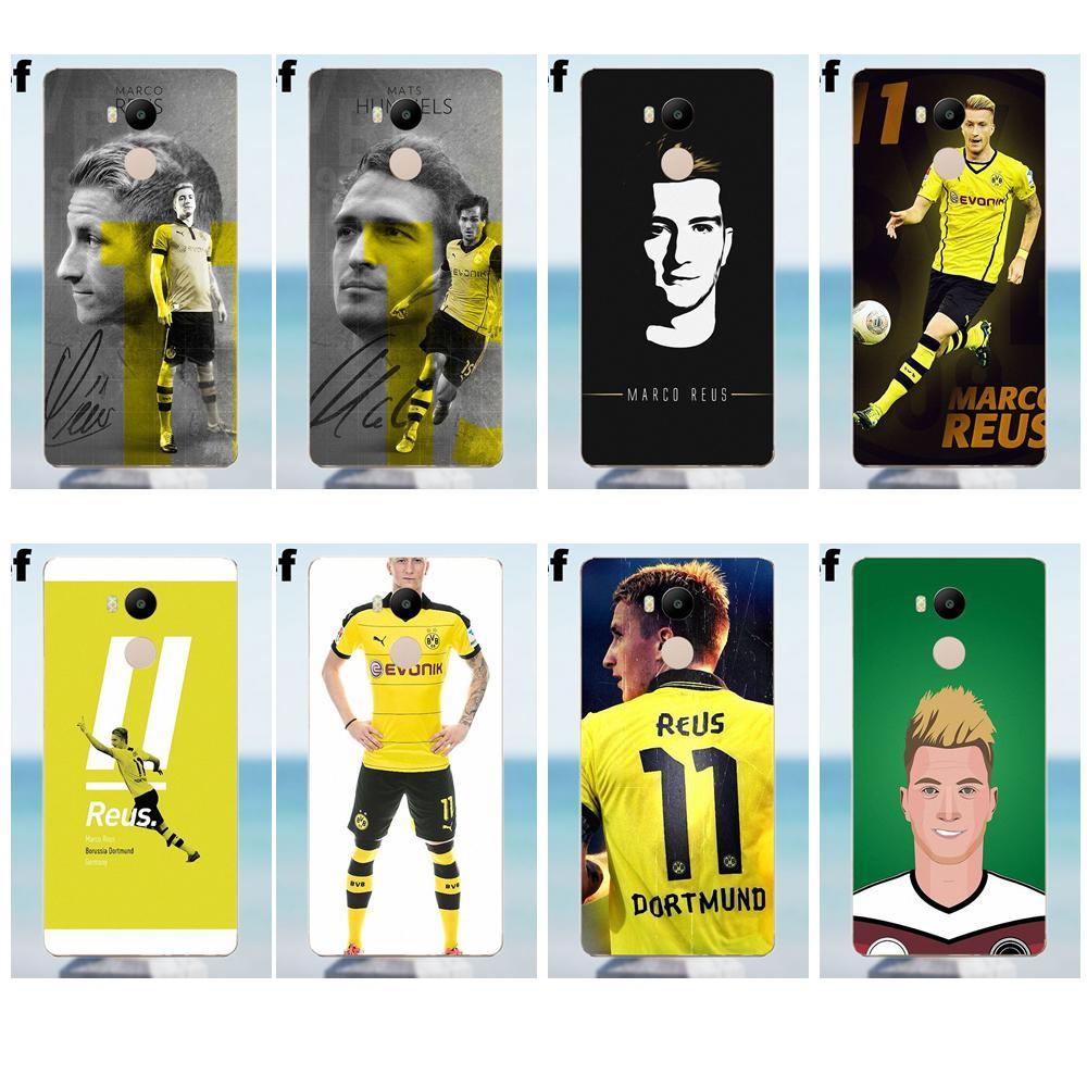 Suef Marco Reus Dortmund Soft TPU Phone Capa For Xiaomi Redmi 4 3 3S Pro Mi3 Mi4 Mi4i Mi4C Mi5 Mi5S Mi Max Note 2 3 4