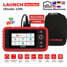 Launch X431 CRP129X OBD2 Car Scanner Engine ABS SRS AT Auto Diagnostic Tool with Oil SAS EPB TMPS Reset pk CRP129E Creader VIII