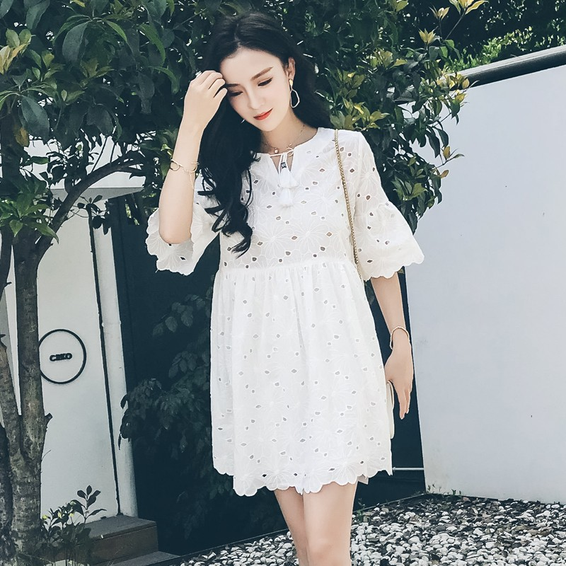 Video loose 2018 New Fashion Summer Women Dress Sexy Sleeveless Dress Female Casual Party Dresses