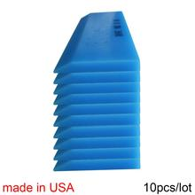10 個米国ゴム BLUEMAX ためハンドルスキージ車のステッカーデカールビニールラップウィンドウ色合いアイススクレーパー家庭用クリーニングツール 10B02