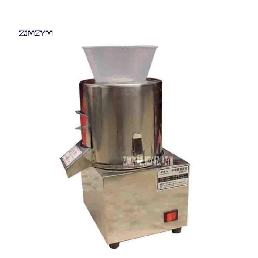 Nouveau SCJ 1 Commerciale Ménage Électrique Légumes À Découper Machine Boulettes de Légumes Farce Machine 220 V 400 W 40 60 kg/h dans Robot Culinaire de Appareils ménagers