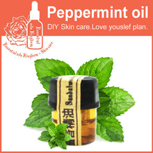 peppermint essential oils 2ml For relieve tired clean pores 100% pure essential oil blackhead remover cleansing Peppermint oil