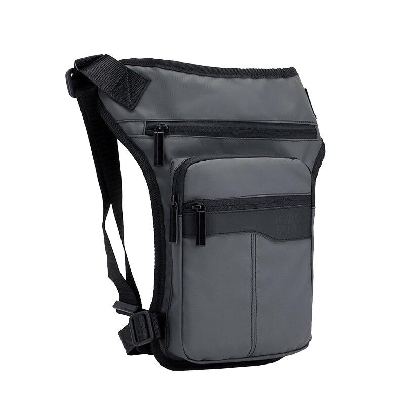 Motorcycle Drop Leg Bag Men Hip Bags Belt Fanny Pack Riding Travel Shoulder Crossbody Bags Nylon Waist Thigh Bag Male Pocket Hot