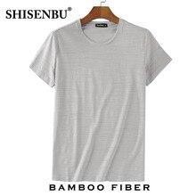 hot deal buy men bamboo fiber t-shirts 2018 men's summer t-shirts tops male short sleeve cotton tops tees bodybuilding fold t-shirt man 3xl
