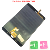 New LCD Display Touch Screen Digitizer Sensors Assembly Panel Replacement For Samsung Galaxy Tab A 8.0 T350 SM T351 T355