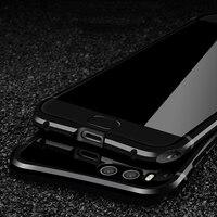 Woodlysi Metal Case For Xiaomi Mi 6 Note 3 Case Luxury Hard Aluminum Metal Frame Acrylic