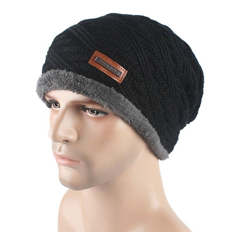 496c4334230 Detail Feedback Questions about Men Winter Hats Knit Wool Beanies Caps Hip  Hop Beanie Hat Warm on Aliexpress.com