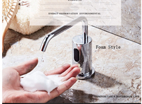 Foam SOAP Style Fully automatic induction faucet type Device Desktop Hotel Cleaning Products