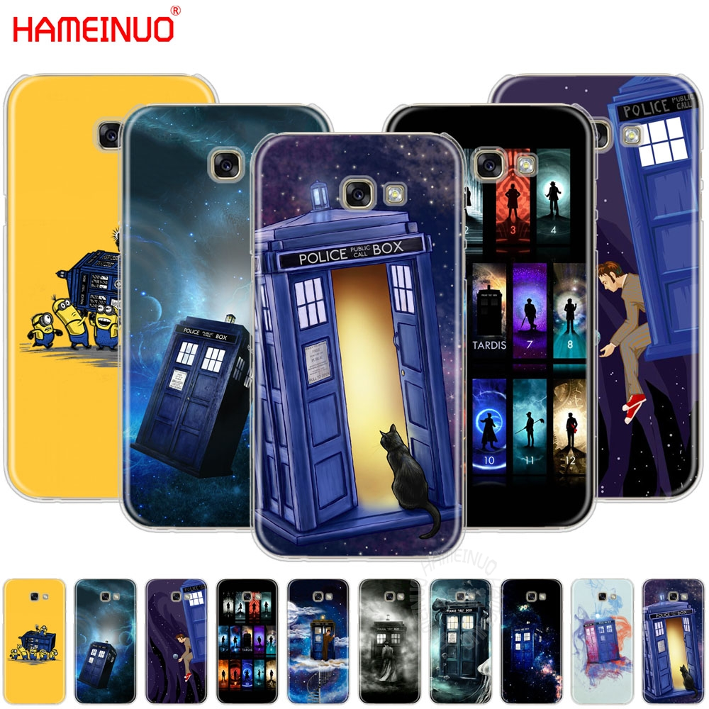 Case Cover For Samsung Galaxy A3 A5 A6 Plus 2016 2017 2018 Tardis Box Doctor Who Phone Bags & Cases
