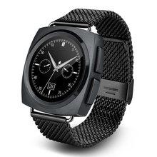 A11บลูทูธ4.0 heart rate monitor smart watchพร้อมไมโครโฟนและลำโพงแฟชั่นสไตล์p assometer smartwatchสำหรับandroid ios