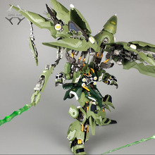COMIC CLUB AnaheimFactoryModels MB metalbuild MB 1/100 сплав KSHATRIYA Аниме Gundam Единорог фигурка робот игрушка
