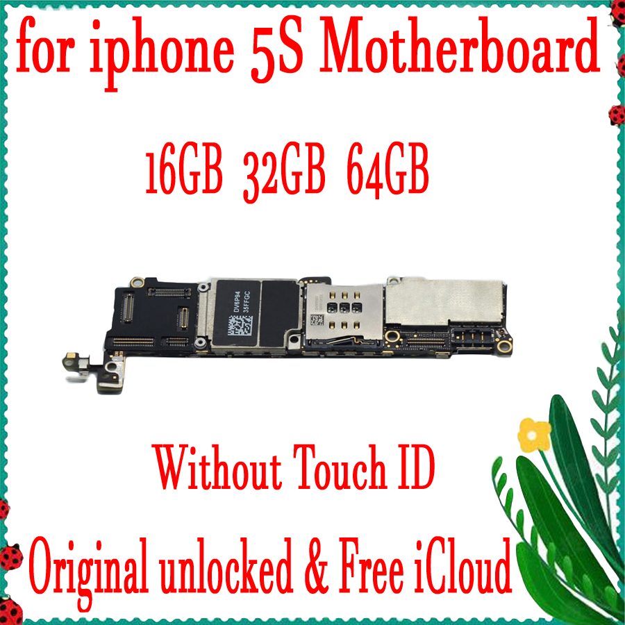 16GB 32GB 64GB Factory unlocked for iphone 5S Motherboard without Touch ID,Original for iphone 5S Mainboard+Chips16GB 32GB 64GB Factory unlocked for iphone 5S Motherboard without Touch ID,Original for iphone 5S Mainboard+Chips