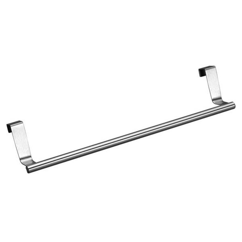Stainless Steel Rack Hanging Door Hook Holder Tissue Over Towel Bar ...