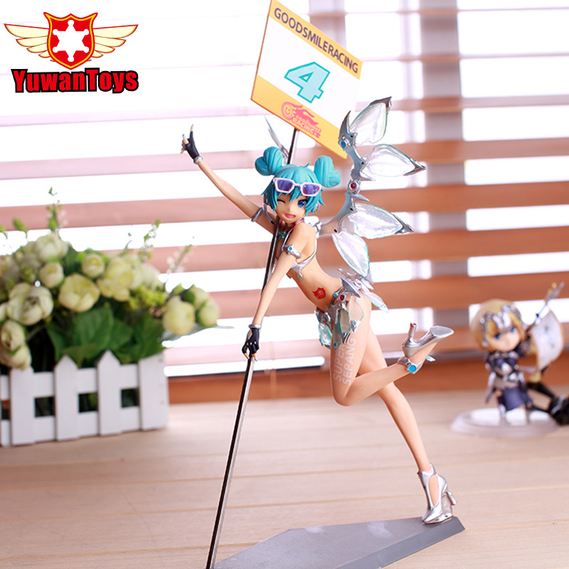 Freeing Sepang Ver Figure VOCALOID Hatsune Miku Racing Sepang PVC Action Figures Anime Sexy Collectible Model Toy Brinquedos  volume order 5set japan anime racing hatsune miku with motor action pvc figure toy tall 13cm in box via ems shipping