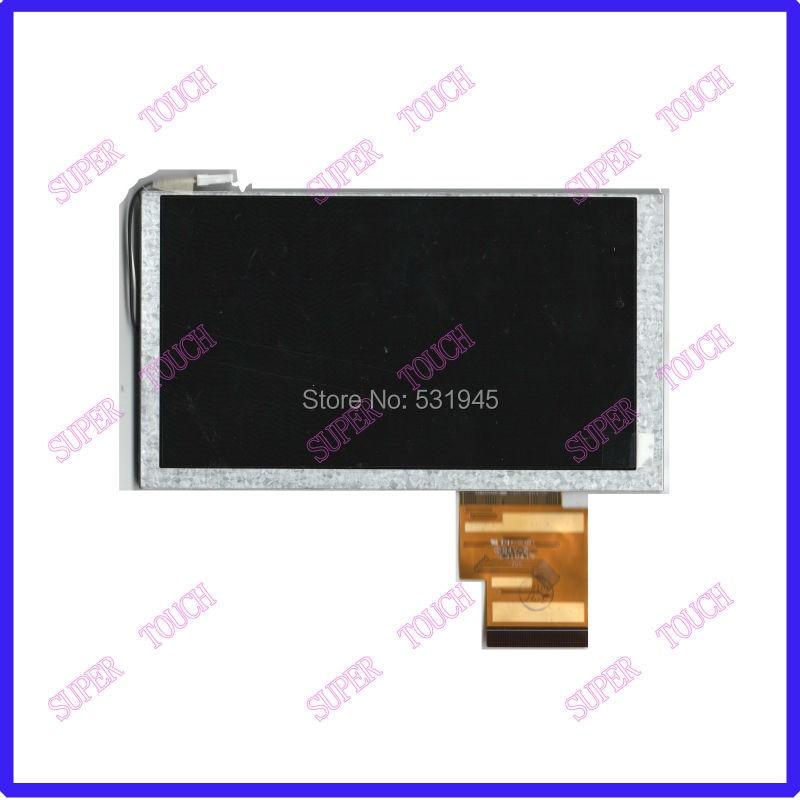 ZhiYuSun LCD HSD062IDW1 A00 A01 A02 Original 6.2 pulgadas pantalla  para el coche GPS