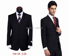 Free Shipping!three Button Men's Business Suits,Dress Suits(Coat+Pants)Brand Wedding Suits for Men