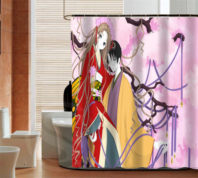 Fashion Anese Anime High Quality Custom Shower Curtain Bathroom Decor Various Sizes Free Shipping More Size
