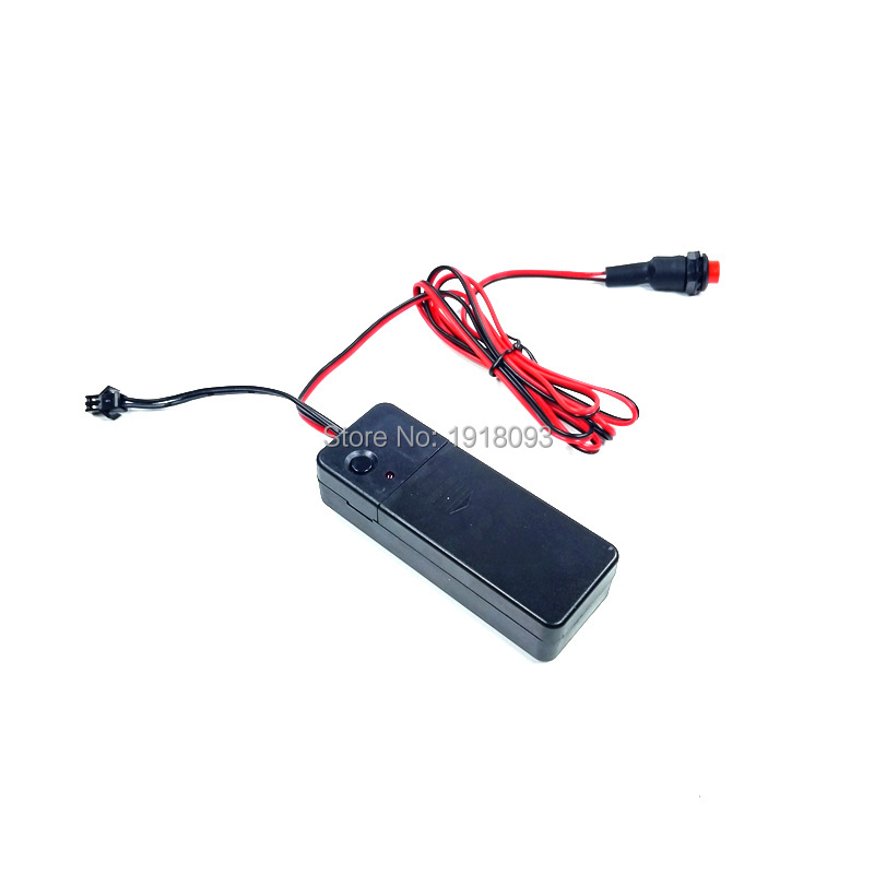 For Event Party Decoration DC-3V Steady On Button Controller EL Wire Driver For 1-10Meters EL Wire/Strip