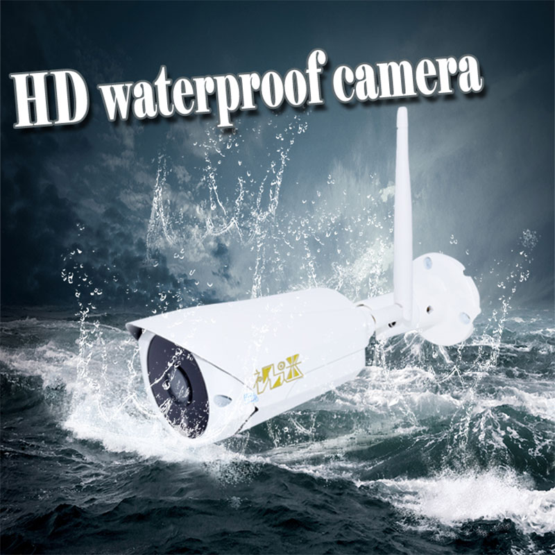 HD 720P Waterproof Wifi IP Camera Outdoor Wireless IR-CUT Night Vision CCTV Camera P2P Bullet security camera outdoor 720p ip camera hd wireless wifi array ir night vision bullet onvif waterproof cctv security ip 1mp network web camera