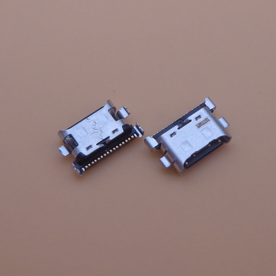 100pcs Micro USB Jack Socket Charging Port Connector For <font><b>Samsung</b></font> <font><b>Galaxy</b></font> A70 A60 A50 A40 A30 <font><b>A20</b></font> A405 A305 A505 A705 image