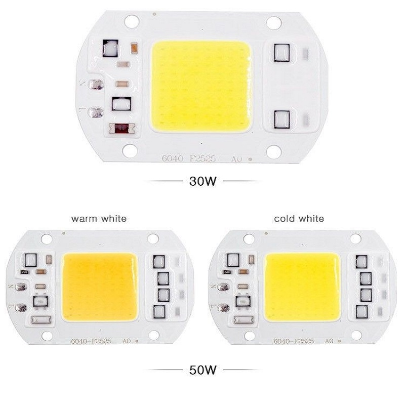 20W 30W 50W 220V COB Input Smart IC Driver Fit For DIY LED Floodlight Spotlight