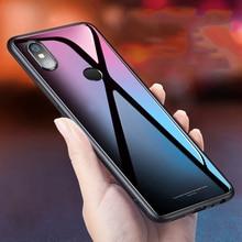For Xiaomi Redmi Note 5 Case Luxury Tempered Glass Silicone Frame Hard Cover For Xiomi Xiaomi Redmi Note 5 Pro Cases Note5