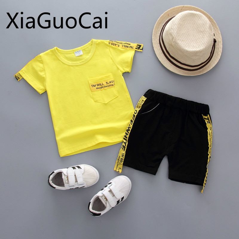1-4Years Infant Baby Boys Clothing Set Cartoon Feather Print Botton Down Shirt Tops with Pocket Solid Shorts Summer Outfits Clothes Casual T-Shirt Pants Set 12M-4Y