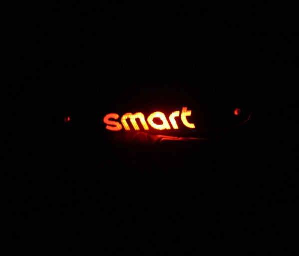 Aliauto автомобильный Стайлинг из углеродного волокна виниловая наклейка Высокий тормозной фонарь наклейка специальный дизайн Аксессуары для Smart Fortwo ForFour