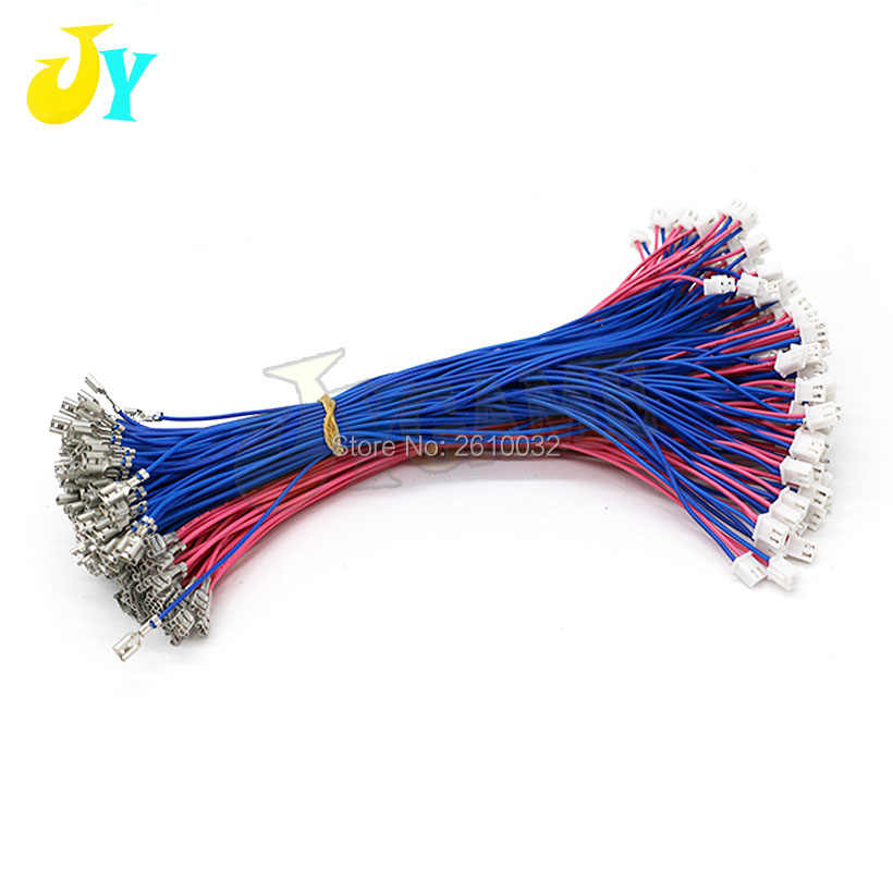 20PCS 4.8mm terminal female connector with 2 pin plug Cable joystick /button wires For Arcade Game Machines Accessories