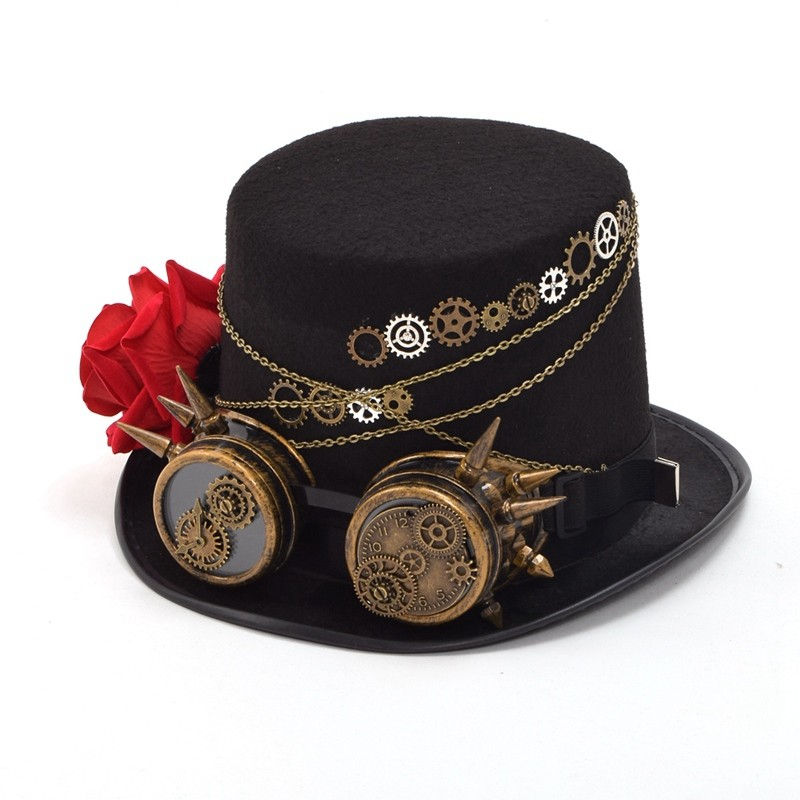 Steampunk Top Hat (9)