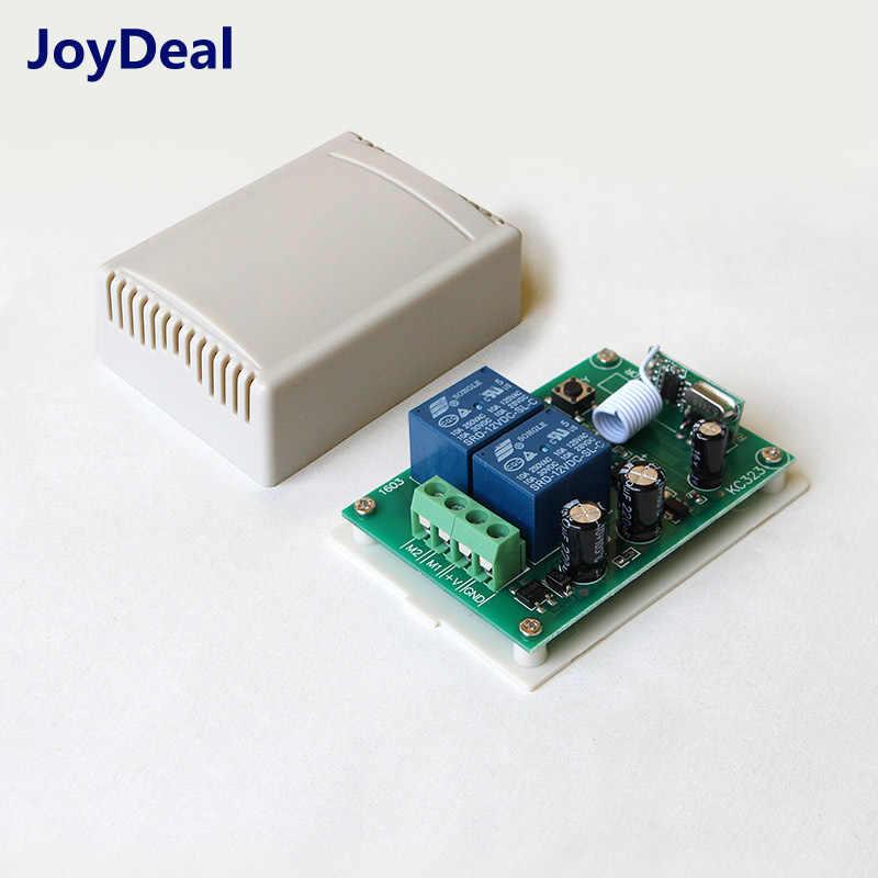 433 Mhz commutateur de télécommande sans fil DC 12 V Module récepteur relais et télécommandes pour moteur à courant continu contrôleur avant et arrière